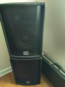 2 PEAVEY  SPEAKERS