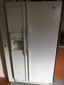 Whirlpool double door fridge for sale -good condition