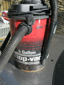 shop vacuum 5 gallons or best offer