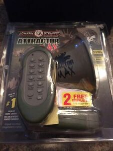 NEW Johnny Stewart Attractor Max