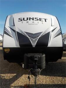 JUST ARRIVED!! NEW 2019 SUNSET TRAIL 288BH TRAVEL TRAILER (TT)