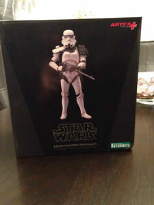 Kotobukiya Star Wars Sandtrooper Sergeant ArtFX Statue, 1-Piece Cambridge Kitchener Area image 1