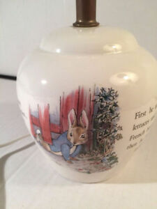 PETER RABBIT BEATRIX POTTER LAMP Kitchener / Waterloo Kitchener Area image 6