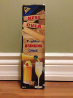 Keel Over Tumblin' Drinking Game (Like Jenga - with a twist)