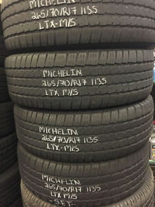 "17"" Winter Snow USED Tires in LIKE NEW Condition!!!!!!!"