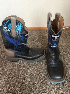 Men's Cinch Cowboy Boots Size 8