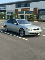 VOITURE DE LUXE ABORDABLE !! BMW 745I 2003