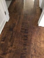 Hard wood floor sanding from 1.25$ sq feet service A+ west