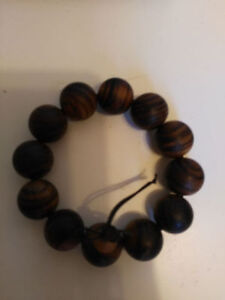 Red sandal wood Mala Necklace