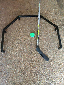 Quick hands. Stickhandling trainer