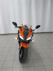 2017 HONDA CBR500R ABS NOIR/ORANGE