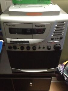 Venturer Karaoke with cassette and cd graphics and 2 cds