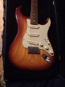***Fender stratocaster deluxe (ash body) s1 switch 2006 usa***