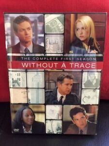 Without A Trace DVD Season 1