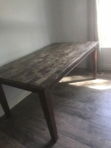 Real granite dining table-No chairs