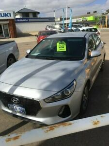 2017 Hyundai i30 PD MY18 Active Silver 6 Speed Sports Automatic Hatchback Beresford Geraldton City Preview