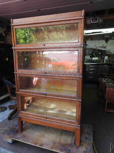 Wanted: antique barrister / lawyers bookcases.. any condition