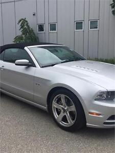2013 FORD MUSTANG GT AUTOMATIC CONVERTIBLE 48KM LEATHER