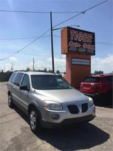 2007 Pontiac Montana SV6**7 PASSENGER**ONLY 148 KMS**AS IS