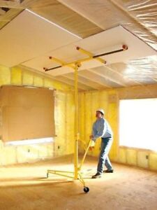 Rent Pro Drywall Panel Hoist Lift Jack - Only $5/day - Save $$$