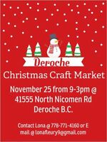 Deroche Christmas Craft Market