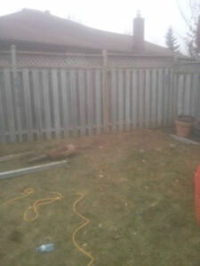 Fence Post Replacement Specialist Kitchener / Waterloo Kitchener Area image 1