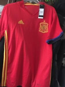 SPAIN JERSEY/SHIRT NEVER USED SIZE L