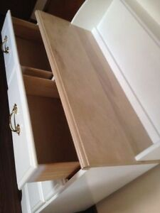 IDEAL maple long dresser with shelves