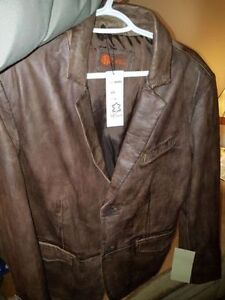 New in packaging 2 new ITALIAN HELium lamb skinleather jackets London Ontario image 2