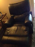 Power massager recliner rocker leather lazy boy was $3500 new