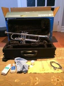 Yamaha Trumpet (Silver) For Sale!