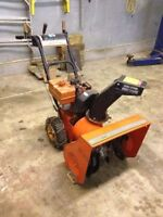 """Beat the snow! Noma 5hp 23"""" Snowblower for sale!"""