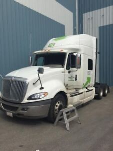 2015 International ProStar +122, Used Sleeper Tractor