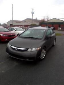 """2010 Honda Civic DX AUTO LOW KMS LOW PRICE  CLICK ON """"SHOW MORE"""""""