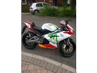 aprilia rs 125 immaculate low mileage now with mot!