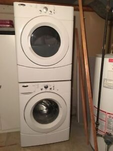 Amana electric Stackable washer / dryer for sale