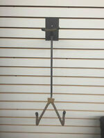 guitar holders, wall mounted, used.