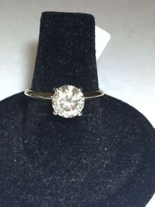 1.50CT DIAMOND 14K GOLD ENGAGEMENT RING CLEARANCE PRICE !!!!!!