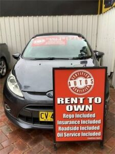2009 Ford Fiesta WS Zetec Grey 5 Speed Manual Hatchback Liverpool Liverpool Area Preview