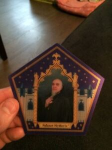 4 Harry Potter Chocolate Frog Collectible Wizard Cards