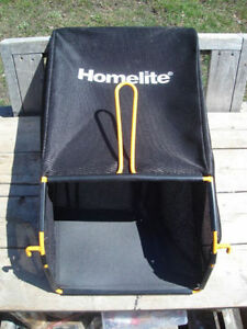 "Brand New: Homelite Grass Collection Bag, 12.75""W x 26""L"