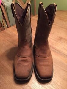 Square Toe Mens Western Boots