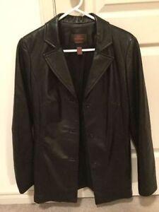~~~Woman's Danier Leather Coat, Small