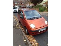 DAEWOO MATIZ 0.8 *VERY LOW MILEAGE* *SERVICE HISTORY* *ONE YEAR MOT*