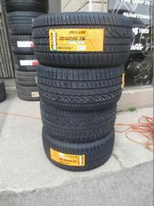 Four Staggered 245 / 40 and 265 / 35 R18 Aeolus XAS Tires