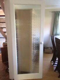 Frosted Glass Interior Doors X 5