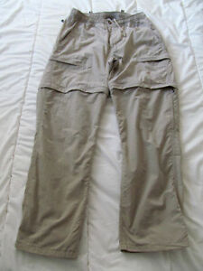 THE NORTH FACE PANTALON CONVERTIBLE HOMME S/P BEIGE OCCASION