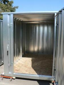 Galvanized Modular Storage Building 86'' L x 81'' W x 87.5'' H