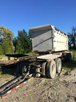 2003 K-LINE 4 AXLE TRANSFER TRAILER WITH AIR RIDE