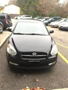 2010 Hyundai Accent GL 5 SPEED MANUAL